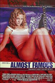 Filmplakat Almost famous - Fast berühmt