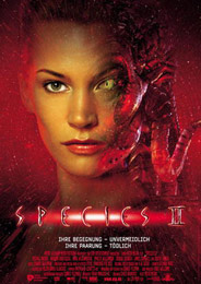 Filmplakat Species II