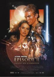 Filmplakat Star Wars - Episode II - Angriff der Klonkrieger