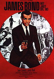 Filmplakat James Bond 007 jagt Dr. No