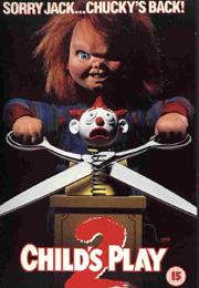 Filmplakat Chucky 2 - Die Mörderpuppe ist wieder da