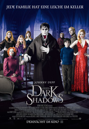 Filmplakat Dark Shadows