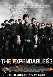 Filmplakat The Expendables 2