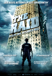 Filmplakat The Raid
