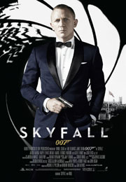 Filmplakat James Bond 007 - Skyfall