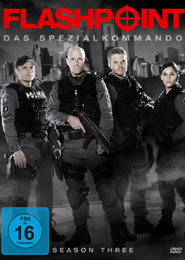 Filmplakat Flashpoint - Das Spezialkommando (TV-Serie) - Staffel 3