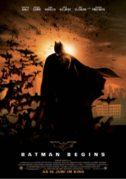 Filmplakat Batman Begins