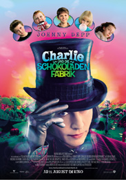 Filmplakat Charlie und die Schokoladenfabrik