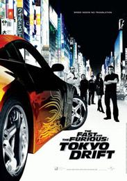 Filmplakat The Fast and the Furious: Tokyo Drift