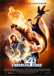 Filmplakat Fantastic Four