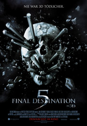 Filmplakat Final Destination 5