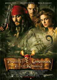 Filmplakat pirates of the caribbean fluch der karibik 2