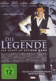 Filmplakat Die Legende - Der Kampf um Citizen Kane