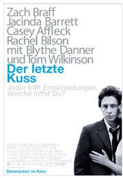 Filmplakat Der letzte Kuss