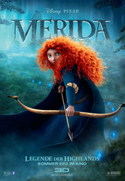 Filmplakat Merida - Legende der Highlands