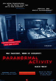 Filmplakat Paranormal Activity