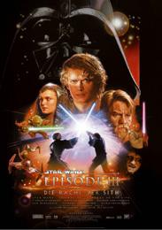 Filmplakat Star Wars - Episode III - Die Rache der Sith