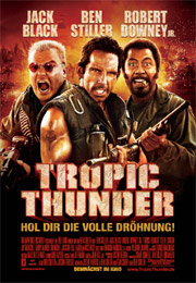 Filmplakat Tropic Thunder